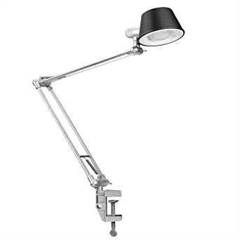 Le swing arm led desk lamps dimmable office table lamp flexible le swing arm led desk lamps dimmable office table lamp flexible clamp on mozeypictures Images