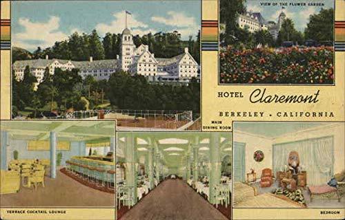 Hotel Claremont Berkeley, California Original Vintage Postcard