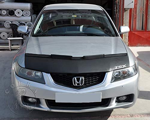 Cobra Auto Accessories Car Bonnet Mask Hood Bra + TSX Logo Fits Acura TSX 04 05 06 07 08