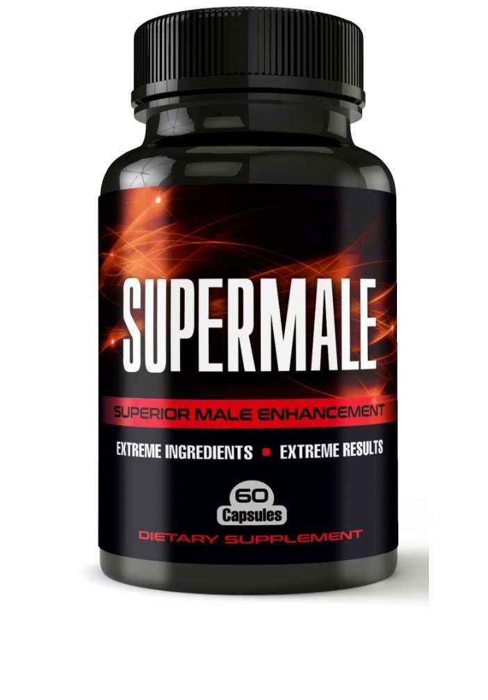 SuperMale - Superior Male Enhancement Pills For Increased Size, Energy, Sex Drive - Erection Pills, Enlargement Pills, Sexual Enhancement, Boost Libido and Testosterone | All Natural Enhancement |