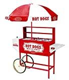 Nostalgia 48-Inch Hot Dog Vending Cart