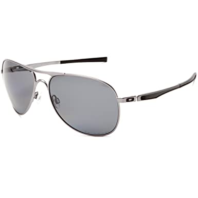 f6c6de477a Amazon.com  Oakley Plaintiff Men s Polarized Sunglasses - Lead Grey ...