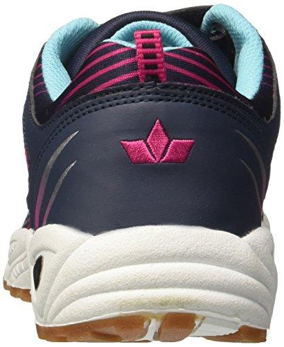Lico Damen Barney Vs Multisport Indoor Schuhe Blau (Marine/Pink/Tuerkis)