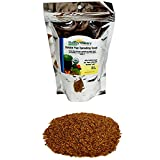 Organic Golden Flax Seeds - 1 Lb Resealable Bag - Yellow / Gold Flaxseeds - Flax Seed for Sprouting, Grinding, Omega Oils, Baking