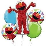 Anagram Elmo Style Birthday Balloon Bouquet
