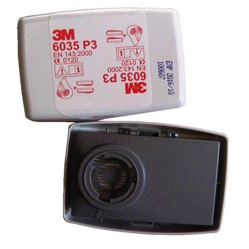 3 M - Filtres Pour Mod Poussiere 3M. 6035 P3 Pour Toute La Série De 6000 à 7000 Package 2Pz