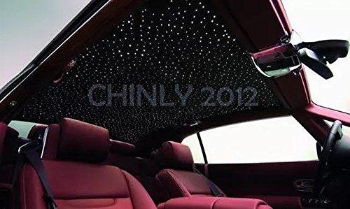 Car use DC12V 6W RGB LED Plastic Fiber Optic Star Ceiling Kit Light 100pcs 0.03in 6.5ft +18key Remote Optical Fiber Lights Engine by CHINLY (Image #9)