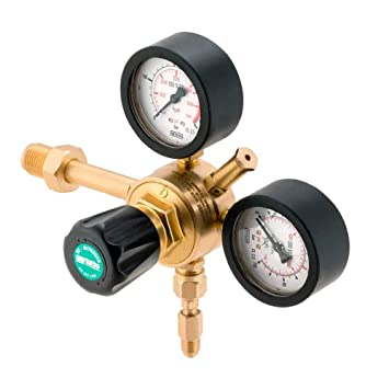 Oxyturbo-Maxymum- Reductor de presión de nitrógeno 60 bar para gases comprimidos de hasta 300 bar.: Amazon.es: Bricolaje y herramientas