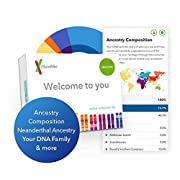 How it works? Provide your saliva sample from home. Mail it back to our lab in the same kit it came in- the postage is prepaid.  You will get access to the following Reports and Tools:  1) Ancestry Composition - See how your DNA breaks out across 150...