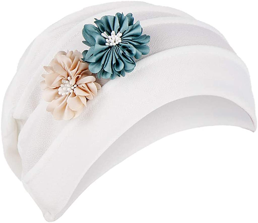 Dwevkeful Turbantes para Mujer Cancer, Turbante Gorra Pañuelo ...