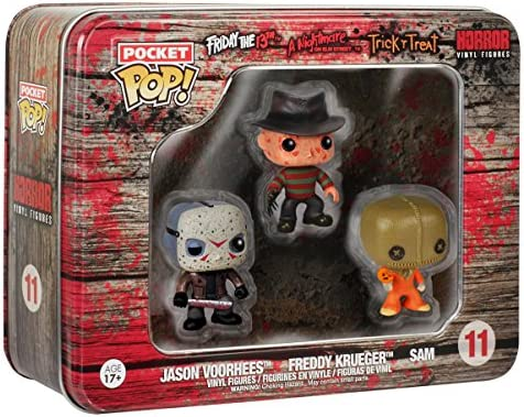 Funko 599386031 - Pack 3 Figuras Set Horror 2 (3,75 cm): Amazon.es ...