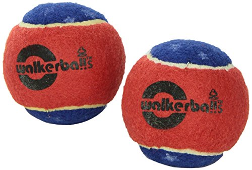 Walkerballs Walker Tennis Ball Glides, Pair, Patriotic by Duro-Med