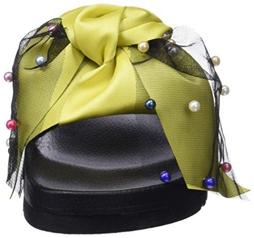 Donna Sixty Infradito C40617 Multicolor Giallo Seven Amarillo Xali raso Borli 64wPq