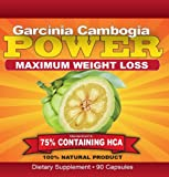 Garcinia POWER | Super Strength 75% HCA!! | 2250mg/day formula | 90 caps | Powerful, Safe, and Extremely Effective for Maximum Weight Loss, Health Care Stuffs