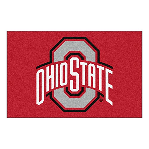 FANMATS NCAA Ohio State University Buckeyes Nylon Face Starter - Nba Team Home Recliner