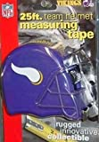 DuraPRO NFL Minnesota Vikings 25 Foot Team Helmet Measuring Tape, NEW