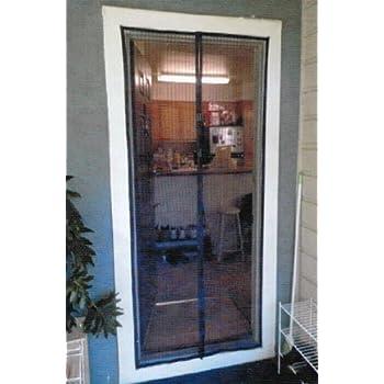 Mesh Screen Door Kit Magnets Screen Door Indoor Outdoor