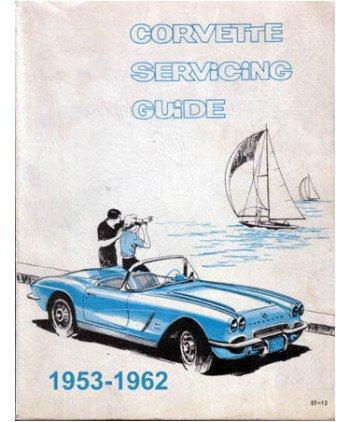 amazon com 1953 1960 1961 1962 corvette shop service repair manual rh amazon com 1969 Corvette 1972 Corvette