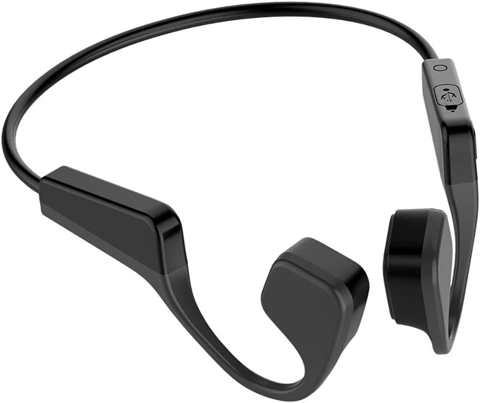 Amazon.com: V11 Bone Conduction Headphones Bluetooth Wireless Sports  Earphone, with BT 5.0 Game Level Chip, IP56 Headset Stereo Hands-Free with  Microphone, Suit for Sport, Swimming or Running.: Electronics