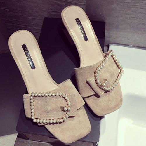 Inverno fankou pantofole di cotone confezione con coppie femmina home pantofole anti-skid scarpe scarpe di cotone caldo maschio e femmina nera ,44-45,