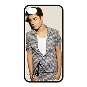 Justin Bieber 5s Cases TPU Rubber Hard Soft Compound Protective Cover Case for iPhone 5 5s