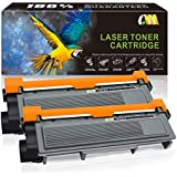 CMCMCM Compatible Toner Cartridge Replacement for Brother TN660 TN 660 TN630 TN 630 High Yield (2 Black) for HL-L2320D HL-L2380DW HL-L2340DW MFC-L2700DW MFC-L2720DW MFC-L2740DW MFC-L2707DW
