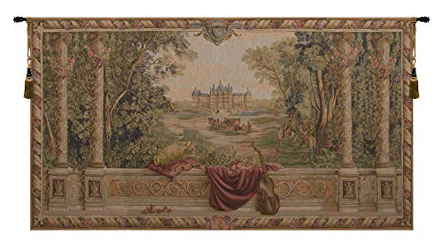 Verdure au Chateau French Wall Art Tapestry