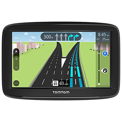 TomTom VIA 1625TM 6-Inch Portable Touchscreen Car GPS Navigation Device - Lifetime Traffic and Map Updates