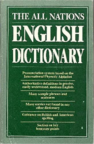The All nations English dictionary: International phonetic alphabet