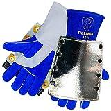 Tillman 1266 High Heat Split Cowhide/Aluminized Lined Welding Gloves,