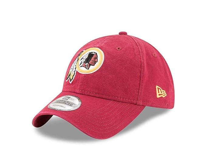low priced 9d41c 1853d New Era Men s Washington Redskins 9TWENTY Core Dark Red One Size Fits All