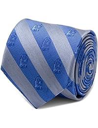Inc. Mens Star Wars¿ R2D2 Blue and Grey Stripe Tie