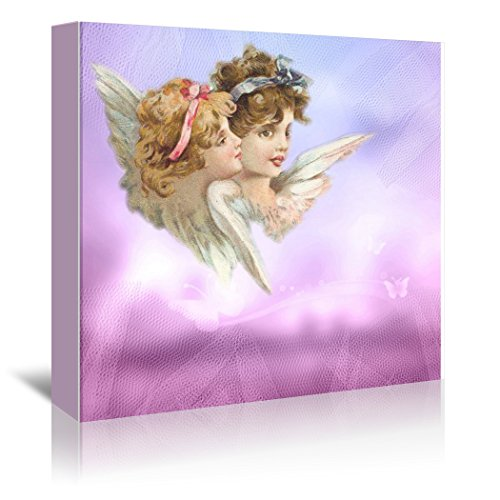 Americanflat Gallery Wrapped Canvas - Angel Love Faith - Square - Wonderful Dream, 30'' x 30'' by Americanflat