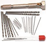 CML Supply Mini Micro Drill Bit Set and Pin Vise
