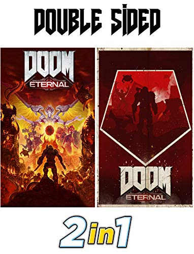 Doom Eternal Exclusive Poster from Collectors Edition - Ps4 - Xbox One - PC