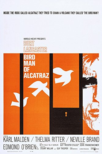 Birdman Of Alcatraz Movie Poster or Canvas