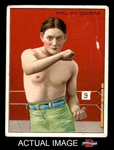 1910 T219 Champions # 30 HON Phil McGovern (Baseball Card) (Honest Back) Dean's Cards 2 - GOOD
