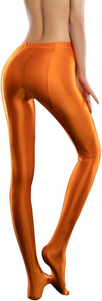 Fanville Medias de aceite brillante para mujer medias medias medias medias medias de elastano brillante brillante medias opacas para deportes fitness