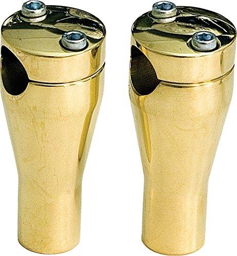 Paughco Glide Style Risers Brass 4