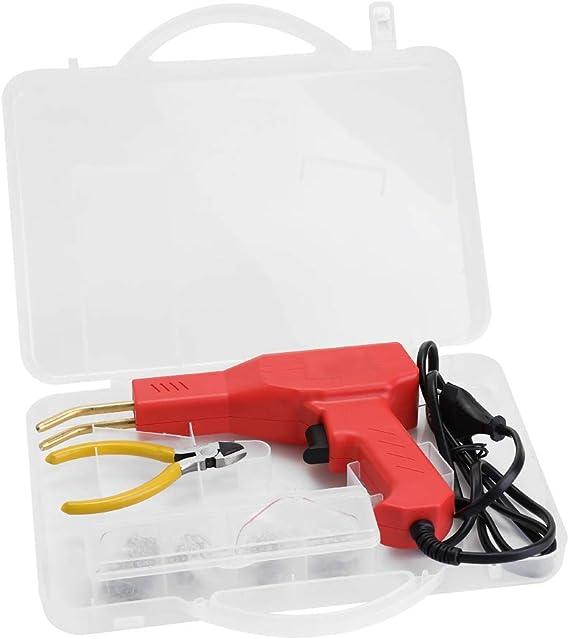 6 Typen Klammern HOT STAPLER Kunststoff Reparatur Kit TACK WELDER inkl