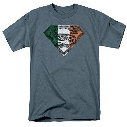 (Superman Celtic Irish Symbol Youth T-Shirt, Youth Medium)
