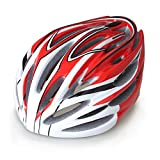 Gonex BMX MTB Road Bike Cycling Safety Adult Helmet Black with Red