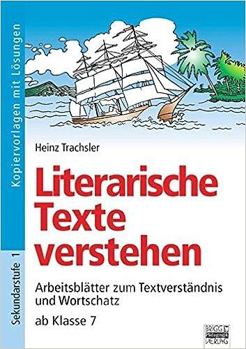 Brigg: Deutsch: Literarische Texte verstehen ab Klasse 7 ...