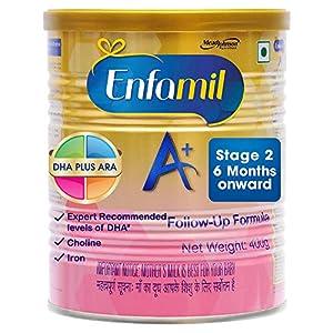 Enfamil A+ Stage 2 Follow Up Formula – 400 g (6 Months Onward)