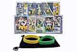 Aaron Rodgers Football Cards Assorted (10) Bundle