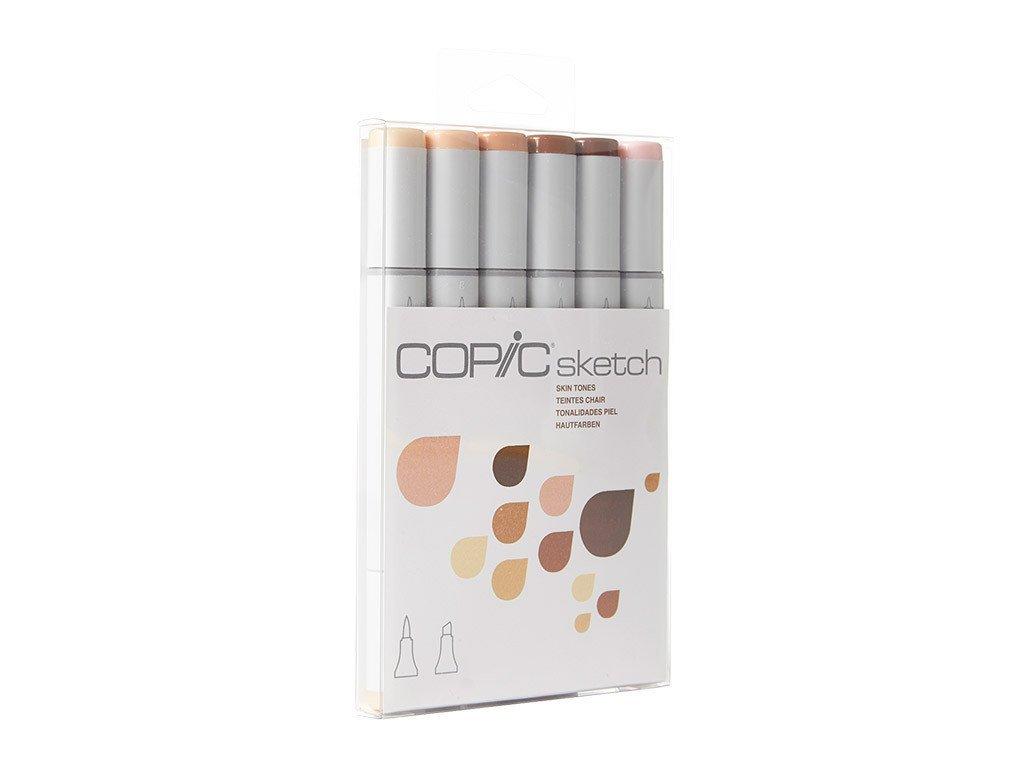 Copic Markers 6-Piece Sketch Set, Skin Tones I 51qcVwf7g7L