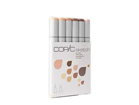 Copic Markers 6 Piece Sketch Set Skin Tones I