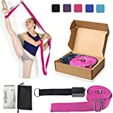 Leg Stretch Band - to Improve Leg Stretching - Easy Install on Door - Perfect Home Equipment for Ballet, Dance and Gymnastic Exercise Flexibility Stretching Strap Foot Stretcher Bands