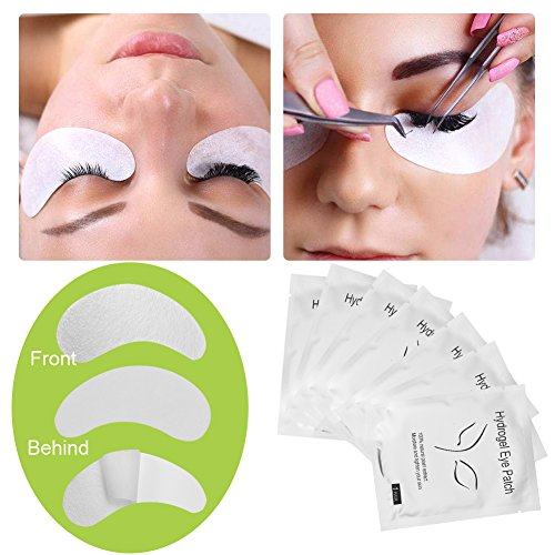 1f285f1cb 110 Pairs Under Eye Eyelash Extension Gel Patches Kit