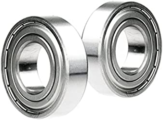 2x 6304-2RS Ball Bearing 20mm x 52mm x 15mm Rubber Sealed Stainless Steel New